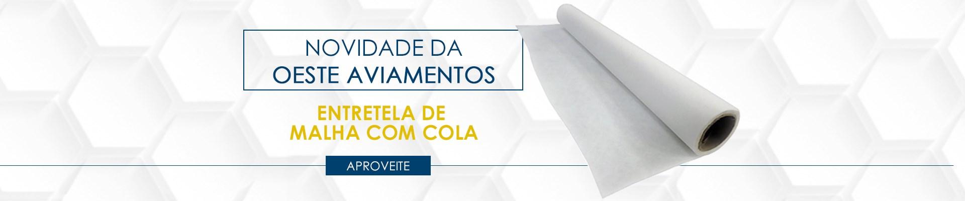 Entretela de Malha Com Cola - SV200