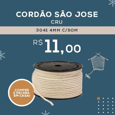 CORDAO SAO JOSE 3041 4MM C/50M CRU