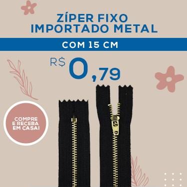 ZIPER IMPORTADO METAL 15CM