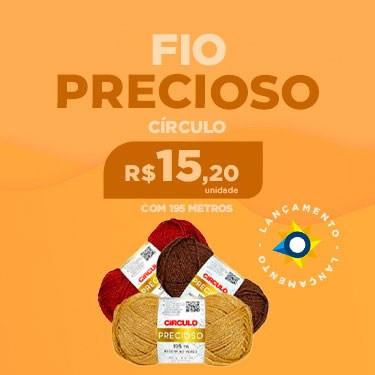 FIO PRECIOSO CÍRCULO COM 195 METROS