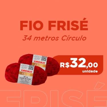 FIO FRISE CIRCULO COM 34 METROS