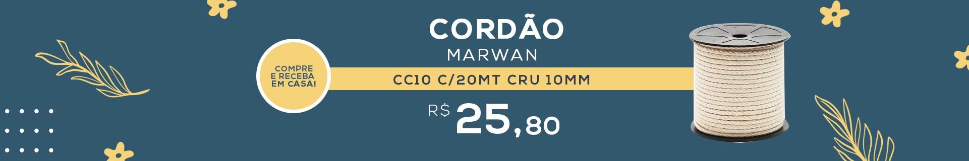 CORDAO MARWAN CC10 C/20MT CRU
