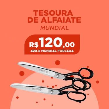 TESOURA DE ALFAIATE 490-8 MUNDIAL FORJADA