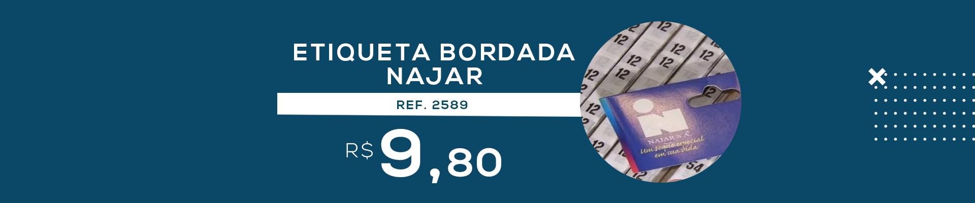 ETIQUETA BORDADA NAJAR REF.2589