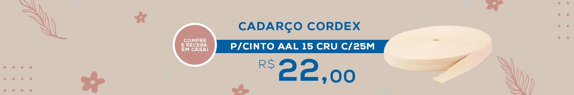 CADARCO CORDEX P/CINTO AAL 15 CRU C/25M