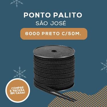 PONTO PALITO SAO JOSE-6000/PRETO C/50M.