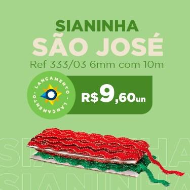 SIANINHA SAO JOSE 333/03 6MM 10MT