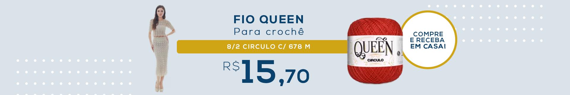 FIO QUEEN 8/2 CIRCULO C/678M