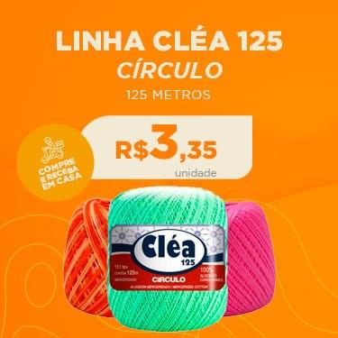 LINHA CLÉA 125 CÍRCULO COM 125 METROS