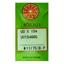 AGULHA IND.ORANGE UO X 154