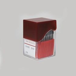 AGULHA INDUSTRIAL IMPORTADA DV X 63 GALONEIRA C/ 10 UNIDADES