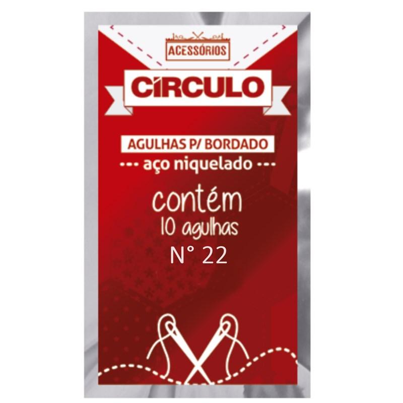 Agulha Para Bordado c/10un - Circulo