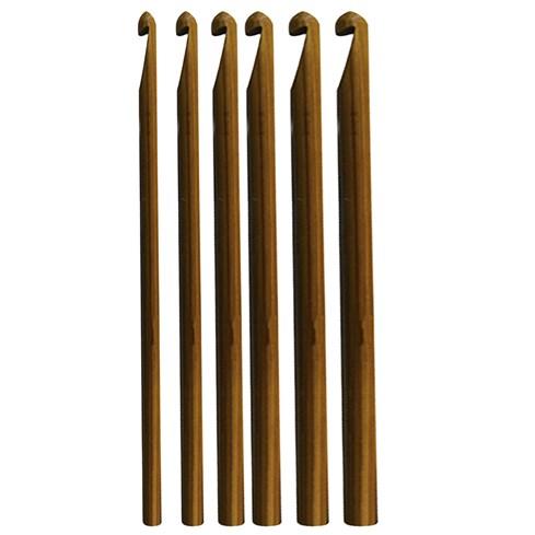 Agulha Para Crochê - 9mm - 10mm - 12mm - Bambu Eco - 17cm - Círculo