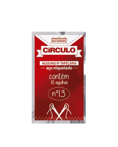 Agulha Para Tapeçaria - 16MM - C/10Un. Circulo
