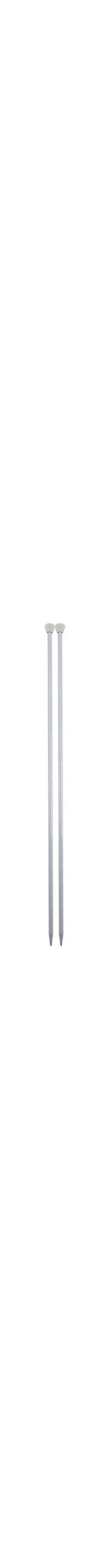 Agulha Para Tricô - 5mm - 100% Alumínio - 35cm - Nacional - Círculo