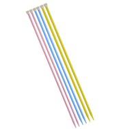 Agulha Para Tricô - 5mm - 5,5mm - 6mm - 100% Plástico - 35cm - Círculo