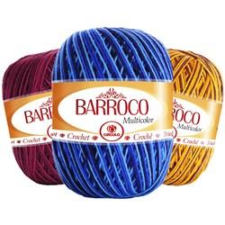 Barbante Barroco Multicolor Círculo Com 200g e 226 Metros