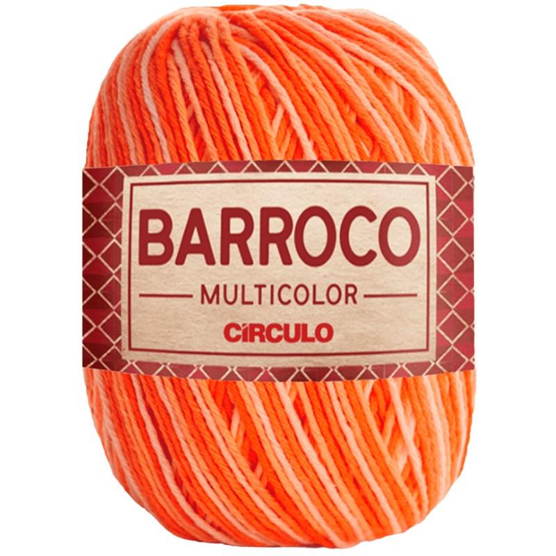 Barbante Barroco Multicolor Círculo Com 400g e 452 Metros