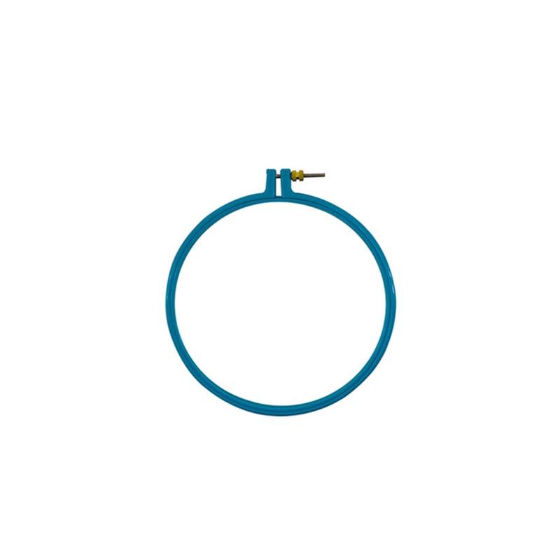 Bastidor de Plástico com Regulador - Número 8 - 20,3 cm - Círculo