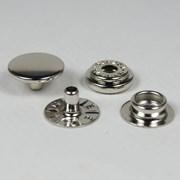 Botão de Pressão - 12,7mm - 7150-80 - Ferro - Niquelado - 200un - Eberle