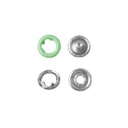 Botão de Pressão - 9mm - 7095-35L - Latão - Cor 0116 - 1000un - Eberle