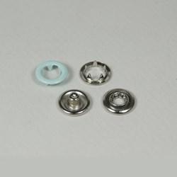 Botão de Pressão - 9mm - 7095-35L - Latão - Cor 5408 - 200un - Eberle