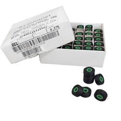 Caixa de Bobinas Descartáveis para Máquina de Bordado com 144 Unidades Cor Preta - Linhanyl