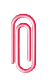Clips Plástico Colorido - Iara
