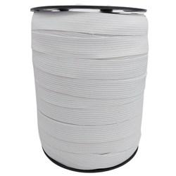 Elástico de Embutir Branco Plus 15mm c/ 100 Metros Elastok