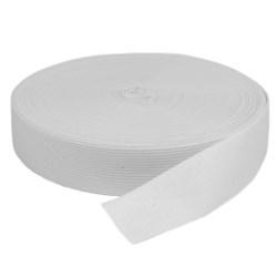 Elástico de Embutir - Jaraguá 30 - Branco (Cru) 29mm - 25 metros - Zanotti