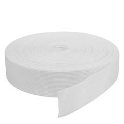 Elástico de Embutir - Jaraguá 35 - Branco (Cru) 34mm - 25 metros - Zanotti