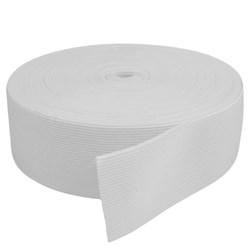 Elástico de Embutir - Jaraguá 50 - Branco (Cru) 49mm - 25 metros - Zanotti