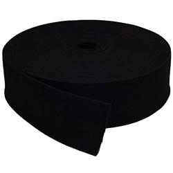 Elástico de Embutir - Mara - Preto - 50mm - 25 metros - Tekla