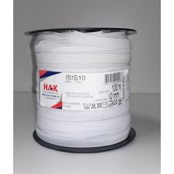 ELASTICO HAK IBIS 10MM CRU C/100M.