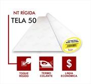 Entretela Não Tecido Com Cola - Gramatura 50 - Branca - 50 metros - Fiorella