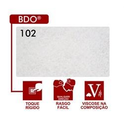 Entretela Para Bordado Sem Cola - BDO 102 - Gramatura 55 - Branca - 100 metros - Fiorella