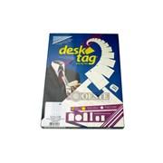 ETIQ.PAULIMAQ DESK TAG LJA 260-45X25-100F.C/40ETQ