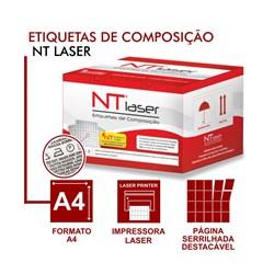 Etiqueta de Composição 25mmx55mm NT Laser 2 caixa c/ 20.000 un Fiorella