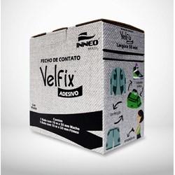 Fecho de Contato c/ Velcro Adesivo 50mm c/ 10 Metros Velfix