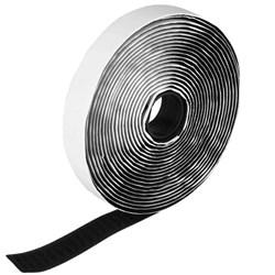 Fecho de Contato Velcro Adesivo 20mm c/ 25 Metros Velfix