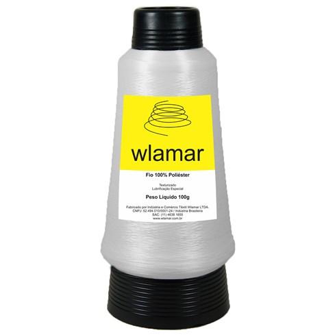 Fio de Poliéster Branco c/100gr Wlamar