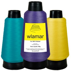 Fio de Poliéster Colorido c/100gr Wlamar