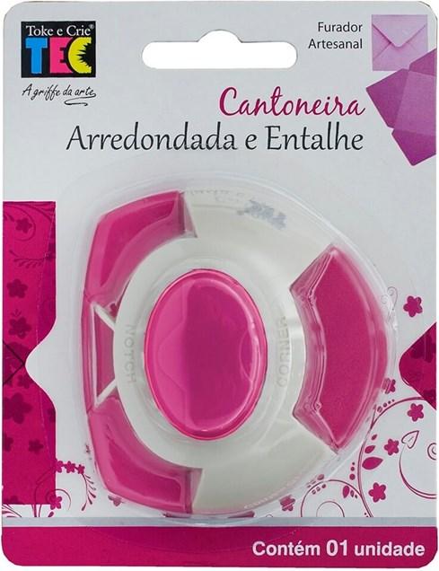 Furador Artesanal Cantoneira Arredondada e Entalhe - Toke e Crie