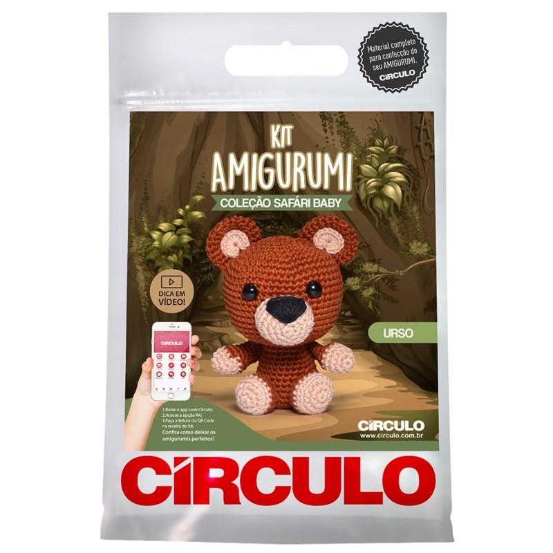 Kit Amigurumi Safári Baby Círculo