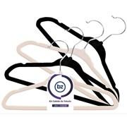 Kit Cabide de Veludo Slim Infantil com 10un Importado