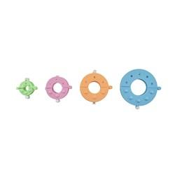 Kit Faz Pompom - 4 Tamanhos - Plástico - Círculo