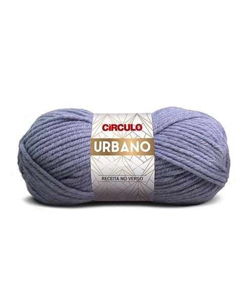 Lã Para Tricô e Crochê - Urbano - 110 metros - Acrílico e Poliamida - Círculo