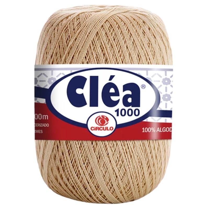 Linha de Crochê - Cléa 1000 - 1000 metros - 100% Algodão - Círculo