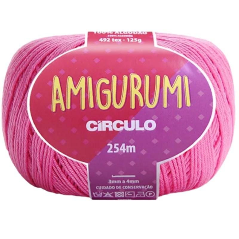 Linha Para Crochê ou Tricô - Amigurumi - 254 metros - 100% Algodão - Círculo