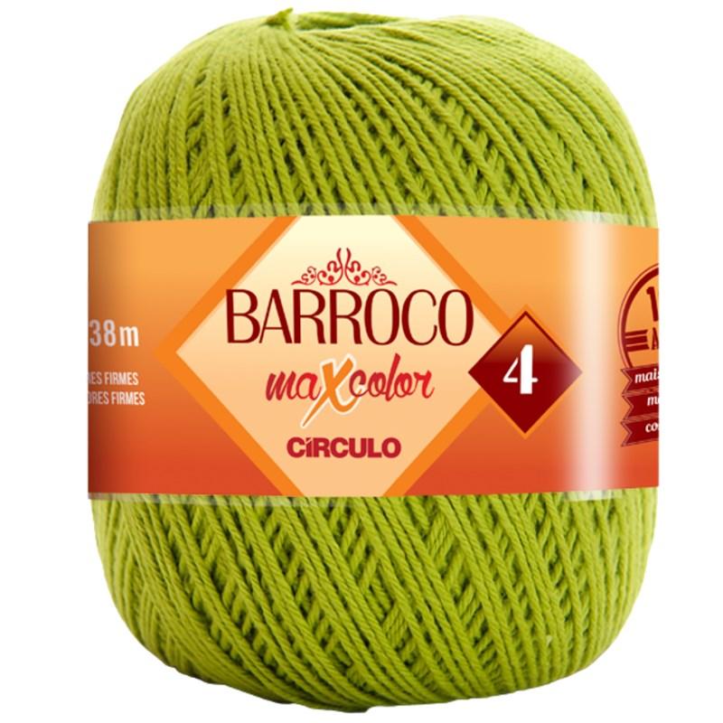 Linha Para Crochê ou Tricô - Barroco Maxcolor 4 - 338 metros - 100% Algodão - Círculo